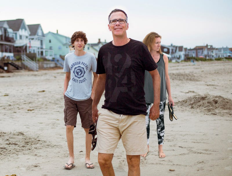 Illustration for article titled Dad Spends Entire Vacation 8 Steps Ahead Of Family