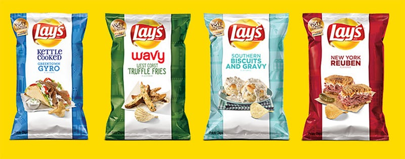 Illustration for article titled This Year's Lay's 'Do Us A Flavor' Finalists Sound Damn Tasty