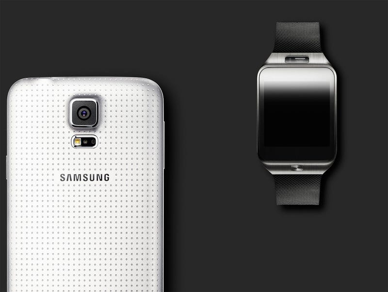 Illustration for article titled Samsung Galaxy S5: New Design and a Fingerprint Scanner