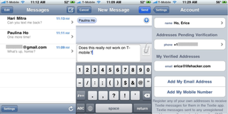 Illustration for article titled Textie for iPhone Sends Free Text Messages