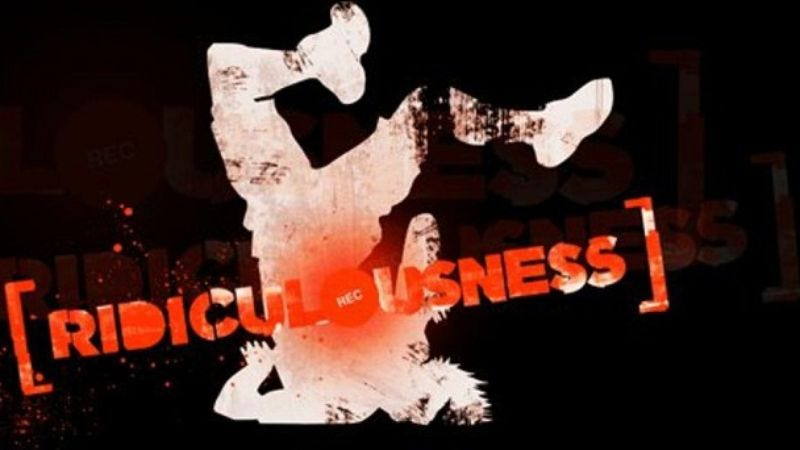 Illustration for article titled Ridiculousness