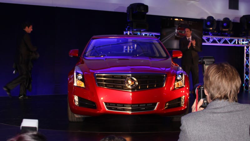 Illustration for article titled 2013 Cadillac ATS: Live Photos