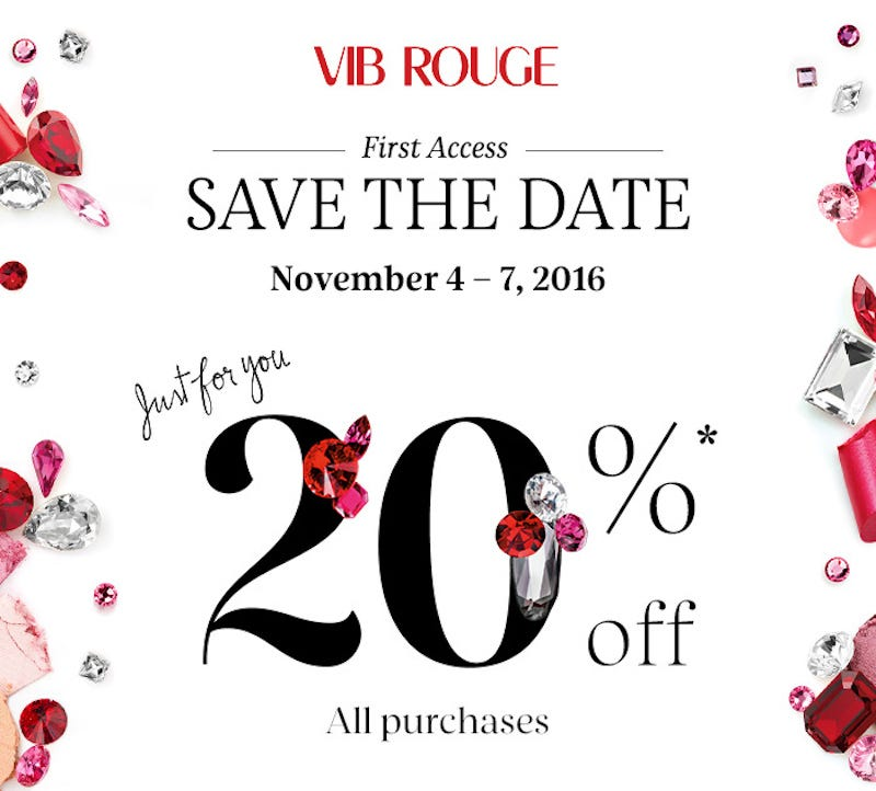 Illustration for article titled If You're a VIB Rouge Member at Sephora, Take 20% Off Your Entire Purchase (with No Exclusions)