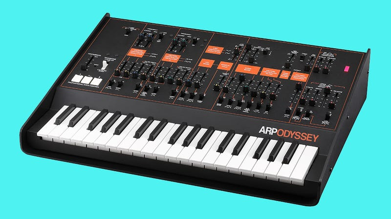Illustration for article titled Korg's Rebooted Arp Odyssey Is Here, Ready For an Army of Synth Nerds