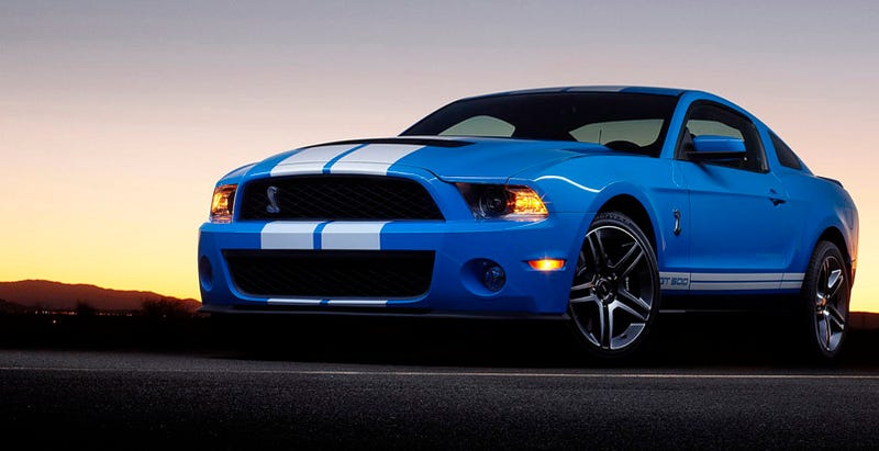 The 2010 Ford Mustang Shelby GT500 Replaces A Scary Beast Of A Car With A  Even More Beastly But Seemingly Less Scary Car Set To Debut At The Detroit  Auto ...