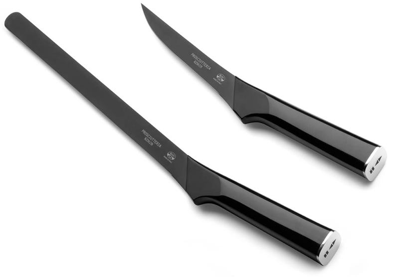 Illustration for article titled These Knives Make Cutting Your Christmas Ham Look as Sharp as an Armani Suit