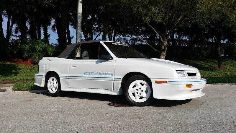 """Illustration for article titled Could A """"1991 Dodge Shelby CSX Convertible"""" Pull $11,500?"""