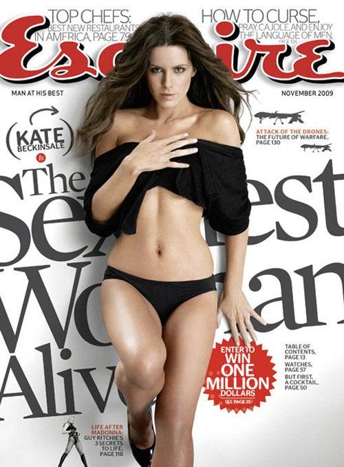 Kate beckinsale esquire shame!