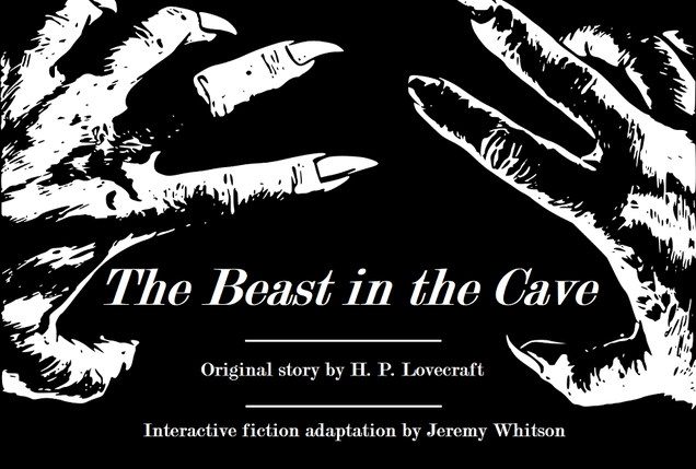 Illustration for article titled Play through H.P. Lovecraft's first published story as a free interactive fiction game