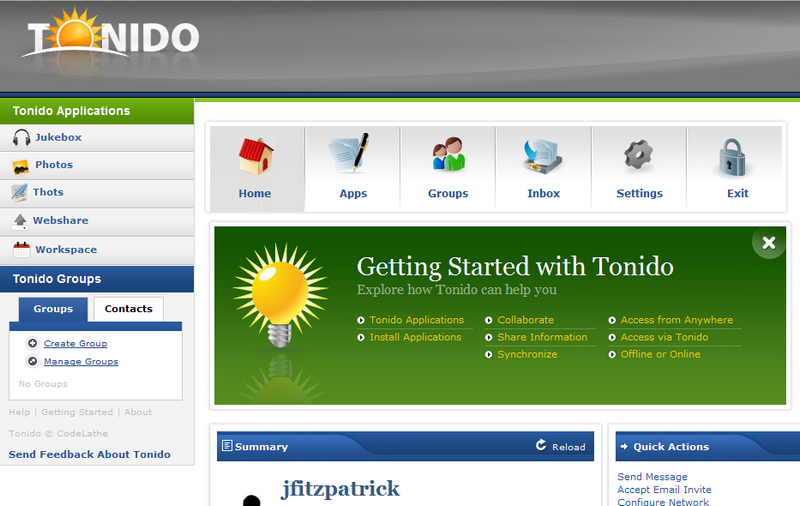 Illustration for article titled Tonido Keeps Cloud Computing Local