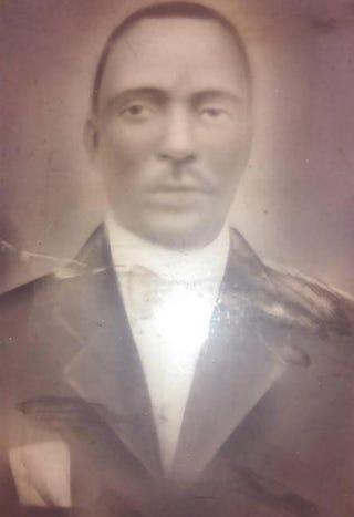 Ancestor of L. Moody, circa 1900Courtesy of L. Moody