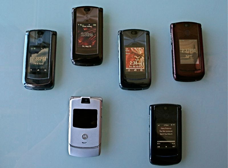 Illustration for article titled The Unknown Differences Between the RAZR2, Carrier to Carrier