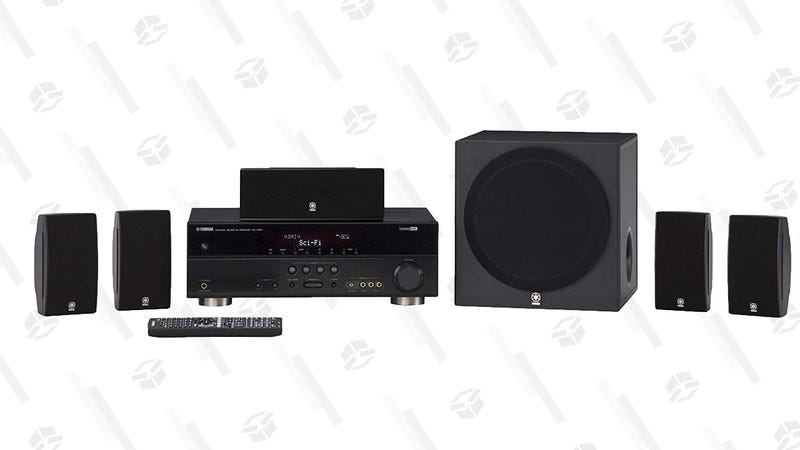 Yamaha YHT-4930UBL Home Theater in a Box | $350 | Amazon