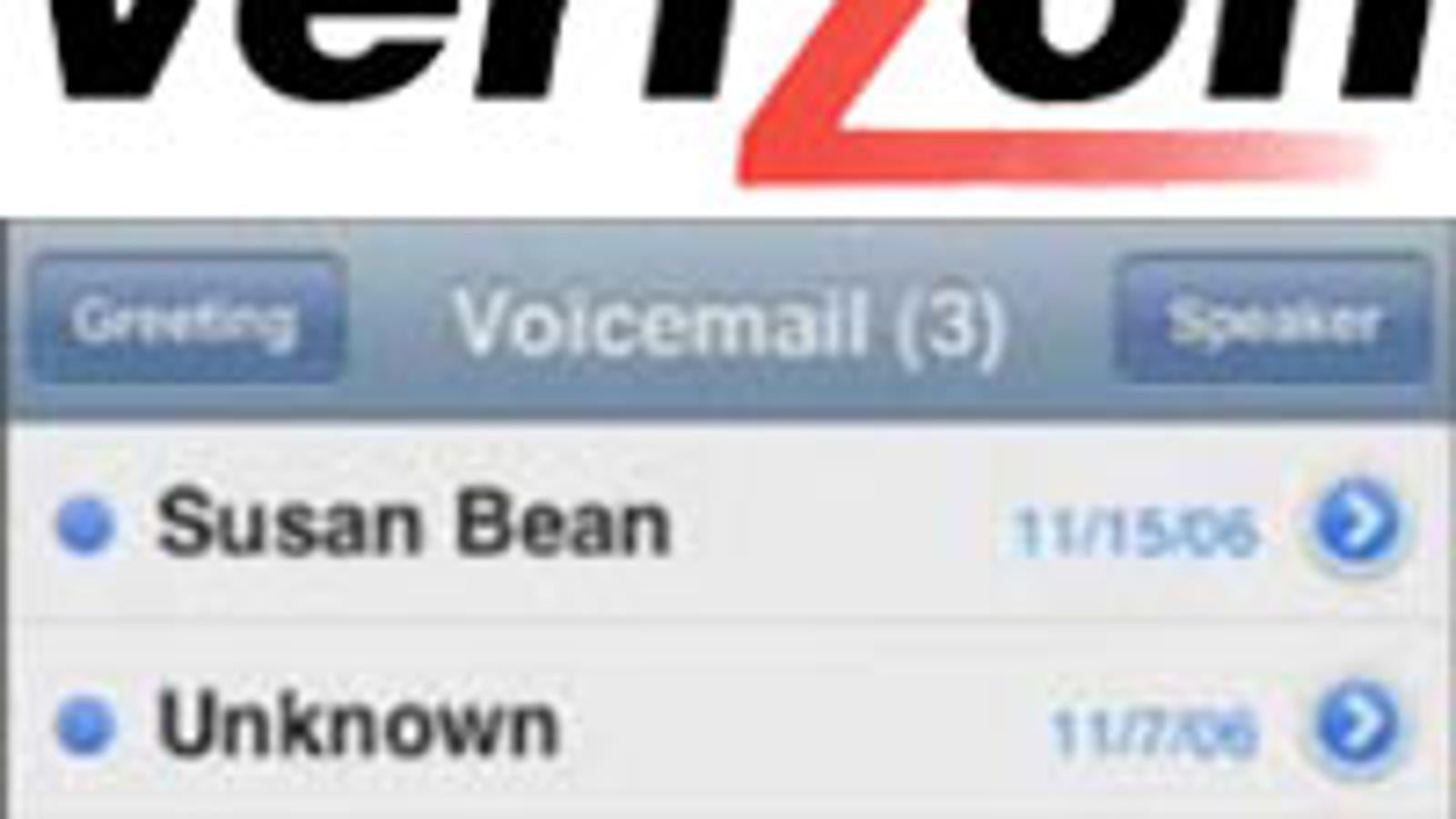 Visual Voicemail Coming To Verizon For A Price