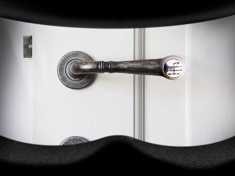 Illustration for article titled This  door handle