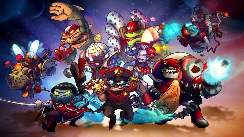 Illustration for article titled Game Night:  Awesomenauts!