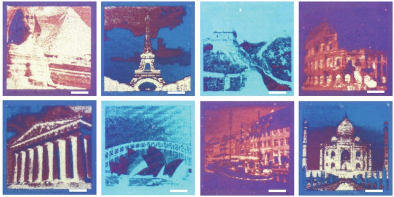 this laser printer creates high res color images without a single