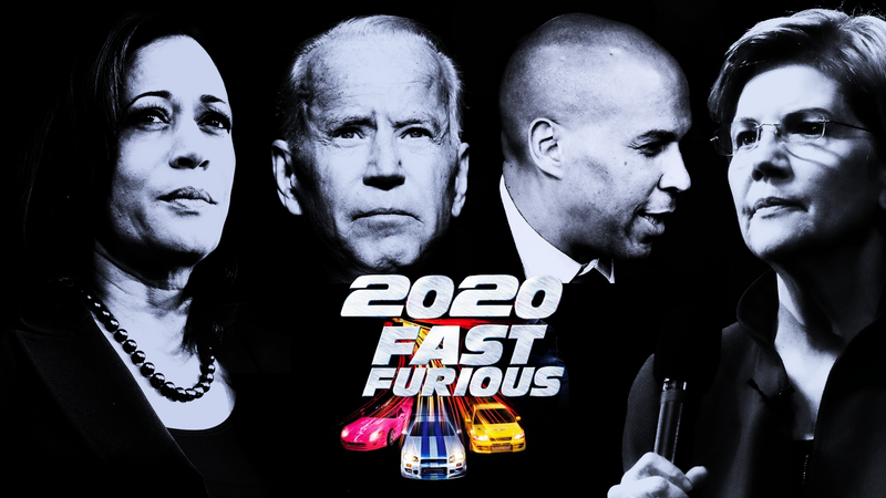 Illustration for article titled Who All the 2020 Democrats Are as Fast and the Furious Characters