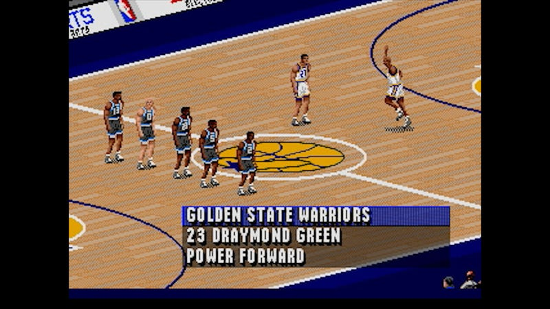 Illustration for article titled Tonight's NBA Finals Game 1, Simulated In NBA Live '96