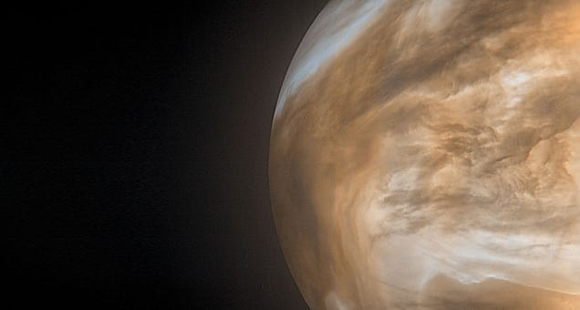Intriguing  Life  Signal on Venus Was Plain Old Sulphur Dioxide, New Research Suggests