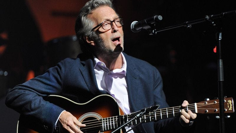 Illustration for article titled Eric Clapton Wows Audience With Even Slower Version Of 'Layla'