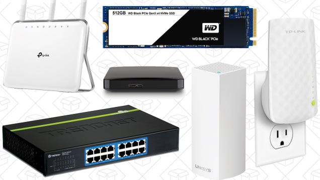 There s Something For Everyone In Amazon s Storage and Networking Gold Box