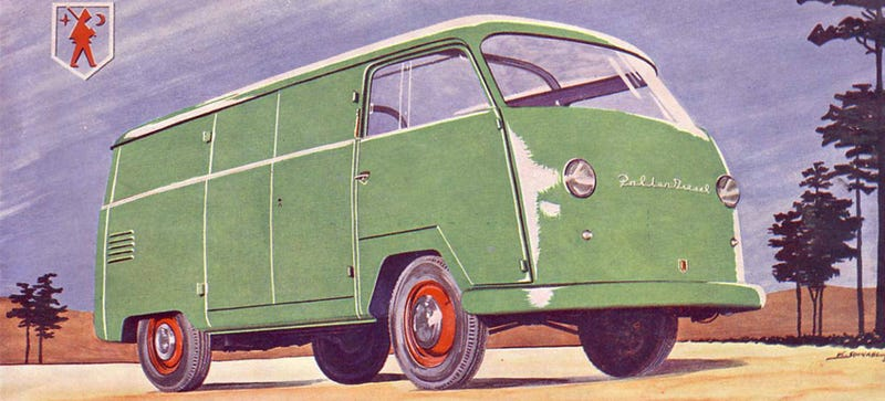 Illustration for article titled This Is The Microbus' Diesel Doppelgänger