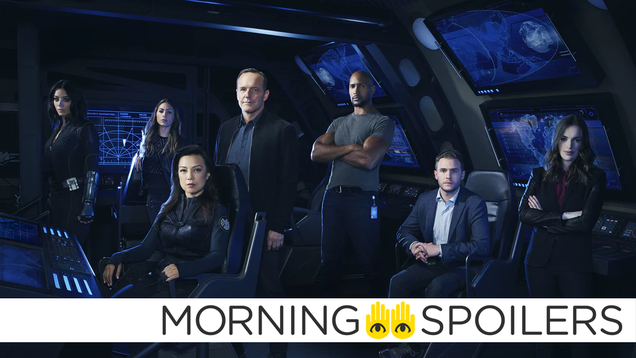 Updates From Agents of SHIELD,Sonic the Hedgehog, and More