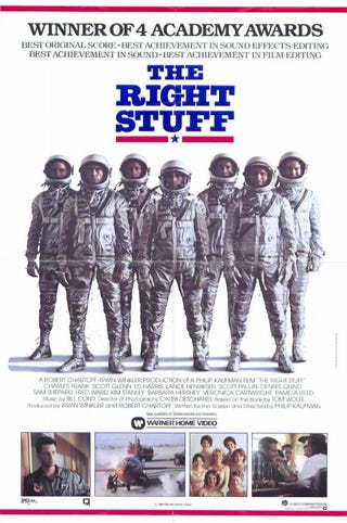 Illustration for article titled Your (Weekly) Oscar Season Movie Guide to Movies You Should Watch Again: The Right Stuff