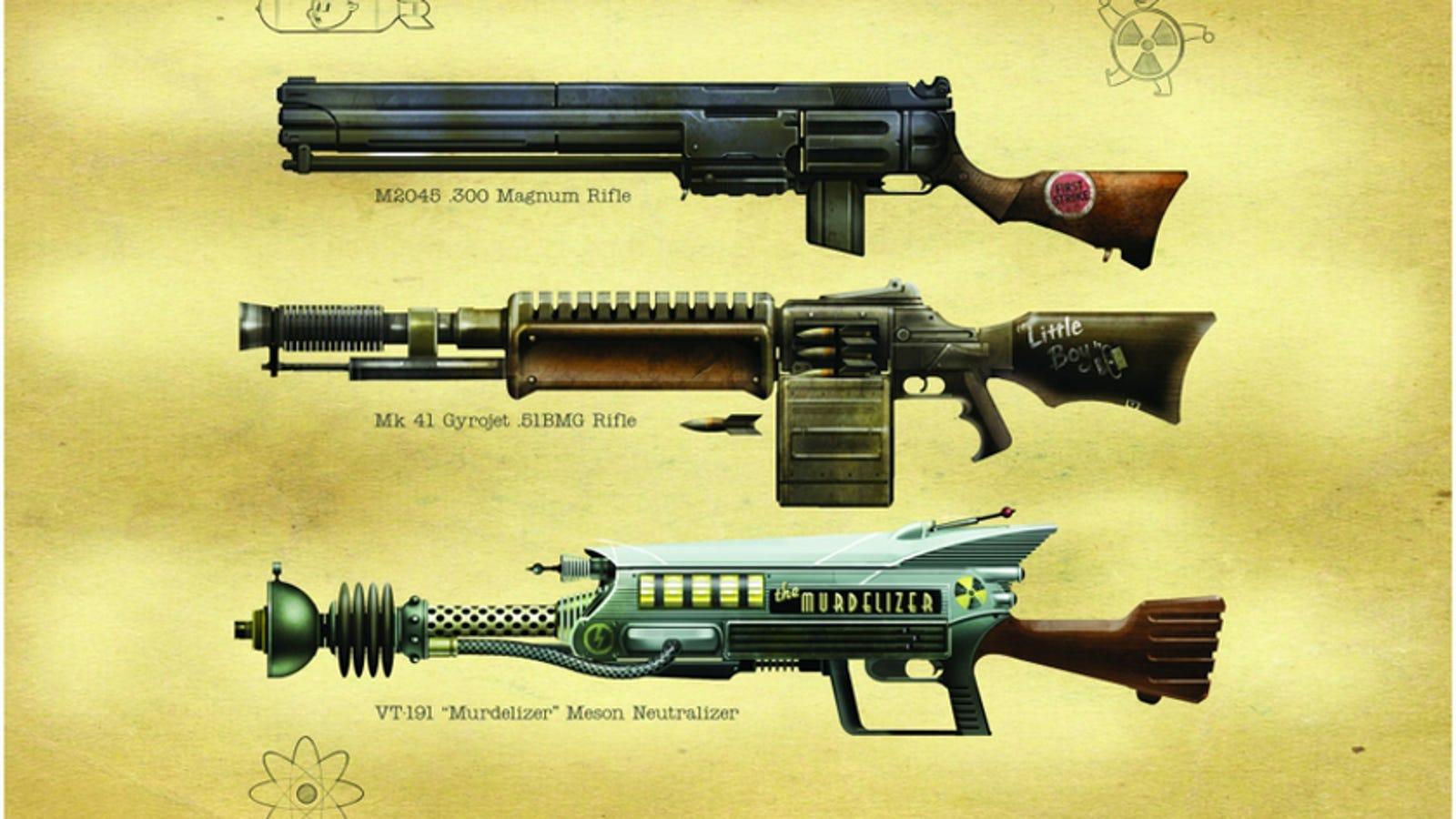 on fallout 3 dart gun schematics