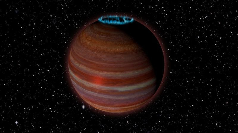 Illustration for article titled Este objeto es tan extraño que los astrónomos aún no saben si es una estrella o un planeta