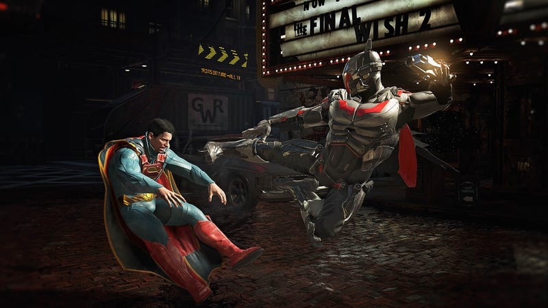 Injustice 2 game launches in London