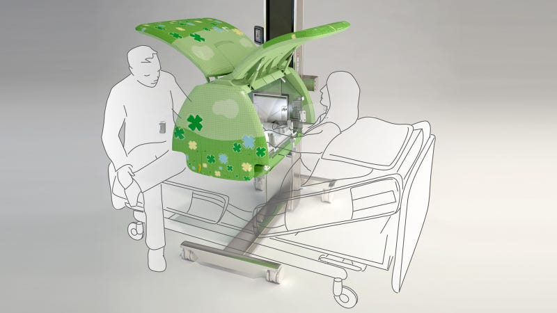 Illustration for article titled This Incubator Humanizes The Hospital