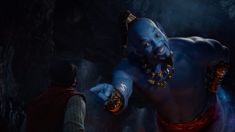 Illustration for article titled Will Smith's end-credits Aladdin rap is just as weird as we could have hoped