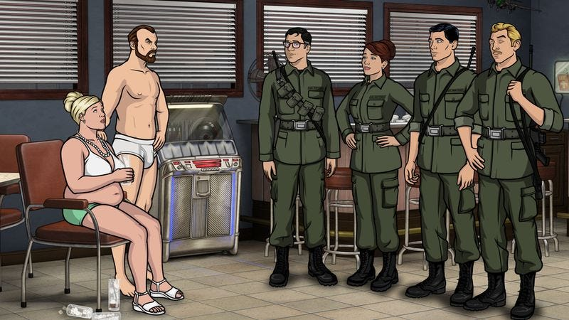 "Illustration for article titled Archer: ""Nellis"""