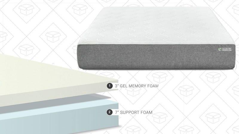 """Gel Memory Foam 10"""" Mattress, $374-$607"""
