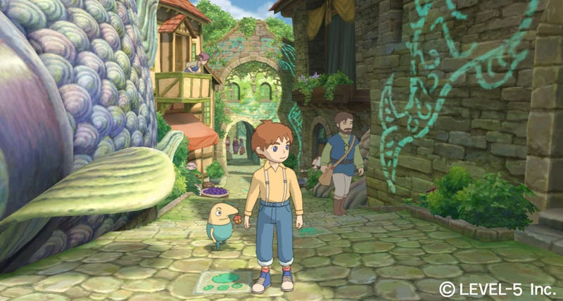 Illustration for article titled Studio Ghibli's Game Getting A Western Release