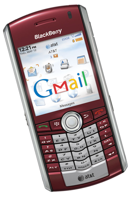 Illustration for article titled Blackberry Internet Service 3.0 Documents Leak: Gmail Syncing Ahoy