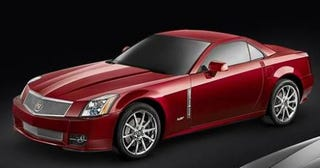 Illustration for article titled 2009 Cadillac XLR-V Revealed, Along With A Load Of Images