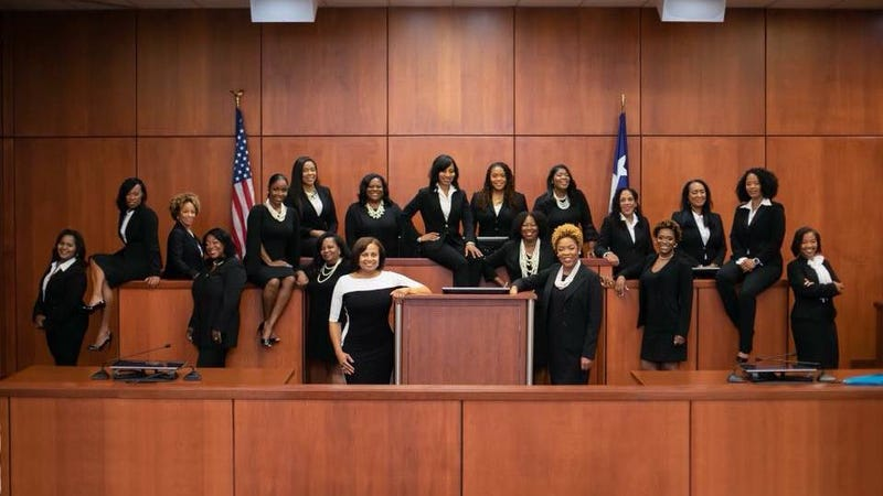 Illustration for article titled 'For All Those People Who Wondered If They Could': Black Women Judges Make History in Texas
