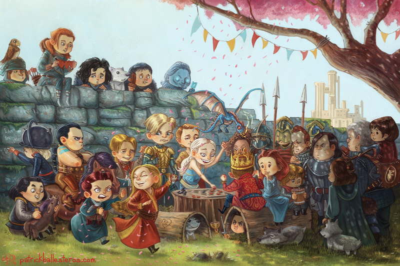 Illustration for article titled You're Never Too Young To Start Playing The Game Of Thrones