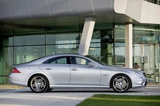 Illustration for article titled Mercedes CLS Gets A Little Off The Chin, New Entry-Level Package