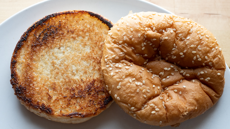 Seriously, go for broke on the bun toasting.