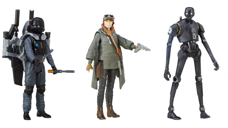 Illustration for article titled A First Look at Some Of the New Rogue One Action Figures and Playsets