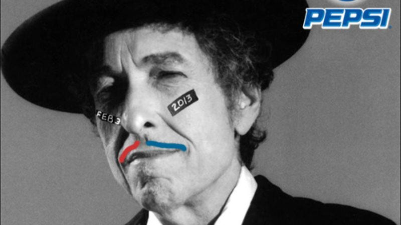 Illustration for article titled Bob Dylan replaces Beyoncé as Super Bowl halftime performer, or so says Tim Heidecker