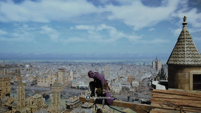 Illustration for article titled Assassin's Creed Unity's New Patch: Wait, There's A Difference?