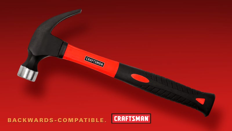 Illustration for article titled Craftsman Confirms New Hammer Backwards-Compatible With Previous Generation Of Nails