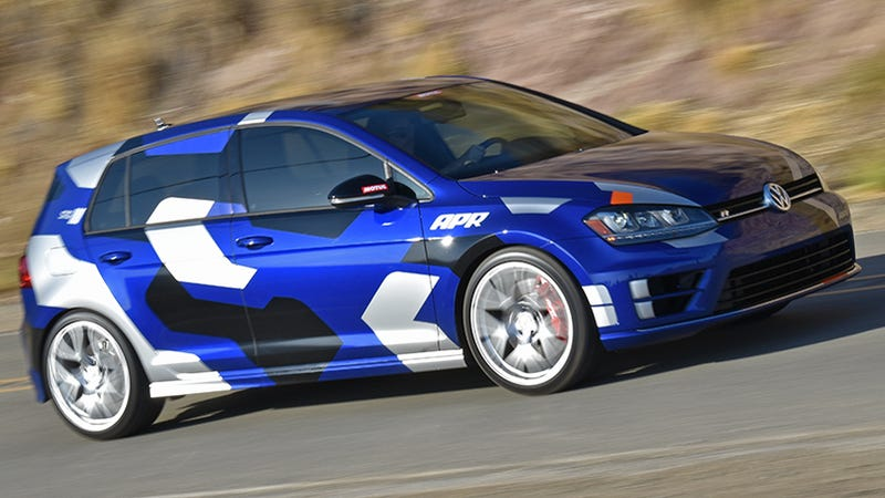 I Drove A 470 HP Volkswagen Golf R With $18,000 In Mods And Oh My God