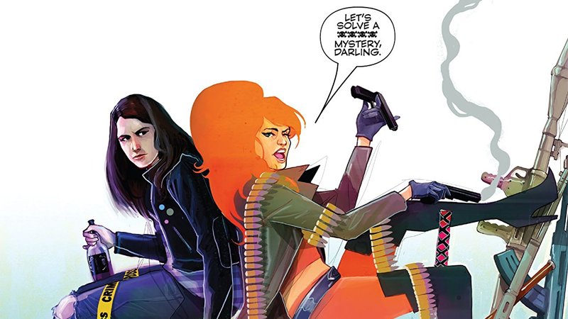 Jessica Jones and Elsa Bloodstone, a match made in heaven.