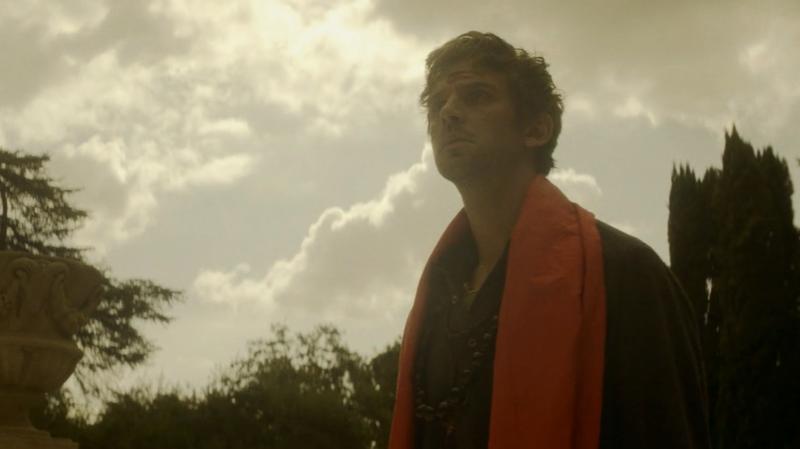 David (Dan Stevens) journeys into a tragedy.
